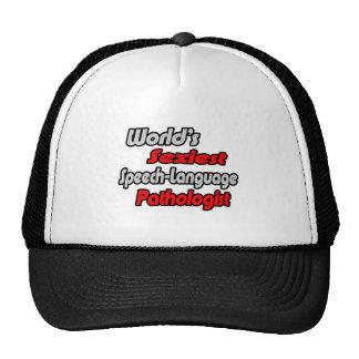 World's Sexiest Speech-Language Pathologist Trucker Hat