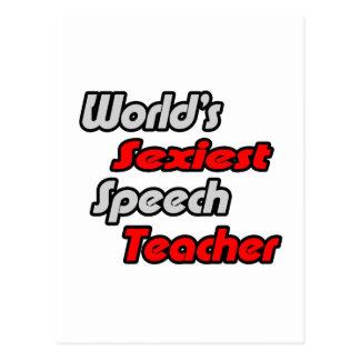 World's Sexiest Speech Teacher Post Cards