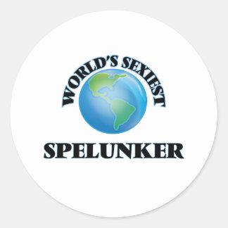 World's Sexiest Spelunker Sticker