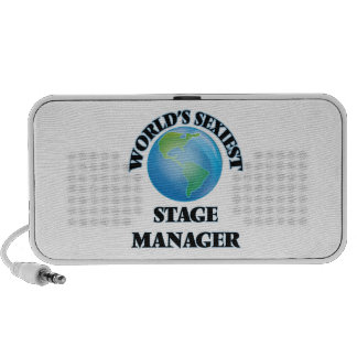World's Sexiest Stage Manager Laptop Speaker
