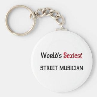 World's Sexiest Street Musician Key Chains
