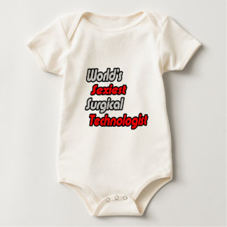 World's Sexiest Surgical Technologist Baby Bodysuit