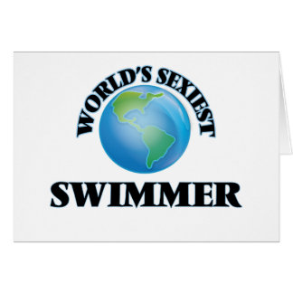World's Sexiest Swimmer Cards