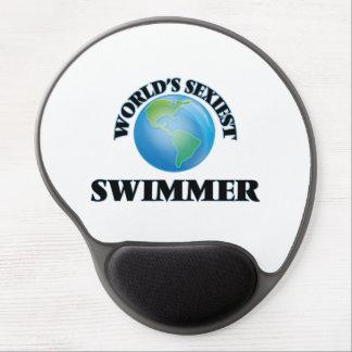 World's Sexiest Swimmer Gel Mouse Mats