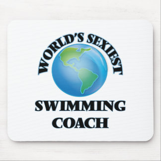 World's Sexiest Swimming Coach Mousepads