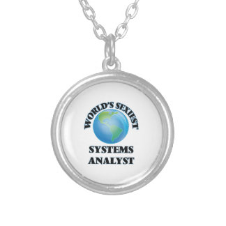 World's Sexiest Systems Analyst Custom Necklace