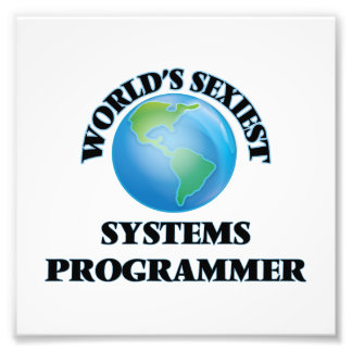 World's Sexiest Systems Programmer Photograph