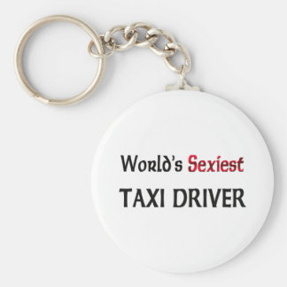 World's Sexiest Taxi Driver Keychain