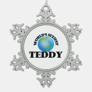 World's Sexiest Teddy Ornament