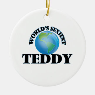 World's Sexiest Teddy Christmas Tree Ornament