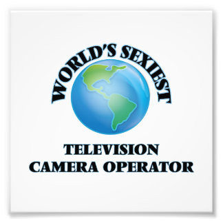 World's Sexiest Television Camera Operator Photo Art