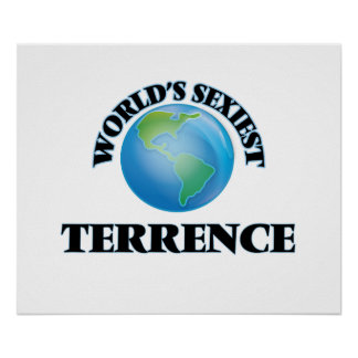 World's Sexiest Terrence Poster