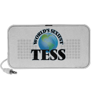 World's Sexiest Tess Laptop Speakers