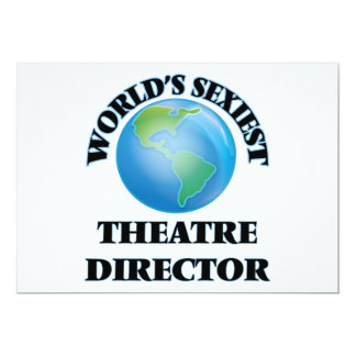 World's Sexiest Theatre Director Personalized Invites