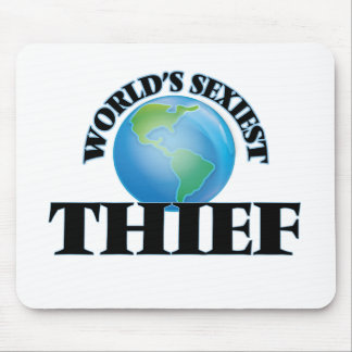 World's Sexiest Thief Mouse Pad