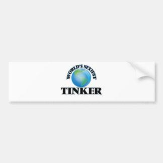 World's Sexiest Tinker Bumper Stickers