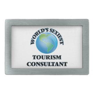 World's Sexiest Tourism Consultant Rectangular Belt Buckle