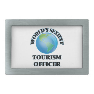 World's Sexiest Tourism Officer Belt Buckle