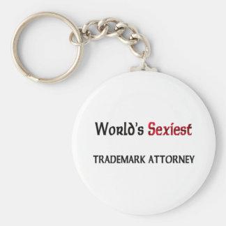 World's Sexiest Trademark Attorney Keychain