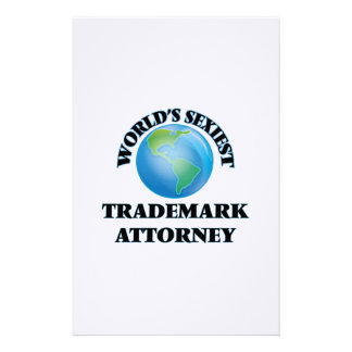 World's Sexiest Trademark Attorney Personalized Stationery