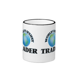 World's Sexiest Trader Ringer Mug