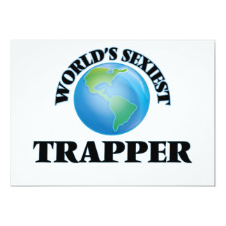 World's Sexiest Trapper Custom Announcements