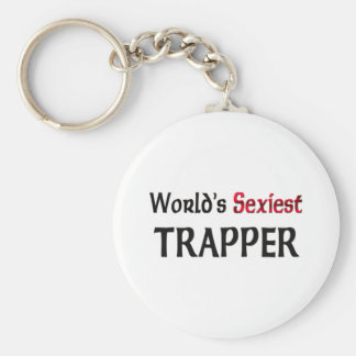 World's Sexiest Trapper Key Chain