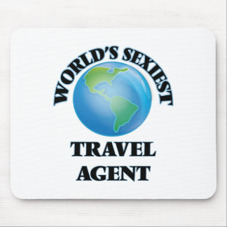 World's Sexiest Travel Agent Mousepad
