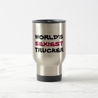 WORLD'S, SEXIEST, TRUCKER TRAVEL MUG
