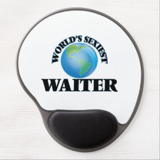 World's Sexiest Waiter Gel Mouse Pads