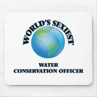 World's Sexiest Water Conservation Officer Mouse Pad