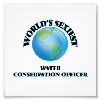 World's Sexiest Water Conservation Officer Photo
