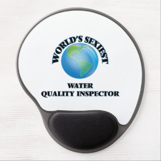 World's Sexiest Water Quality Inspector Gel Mouse Mats