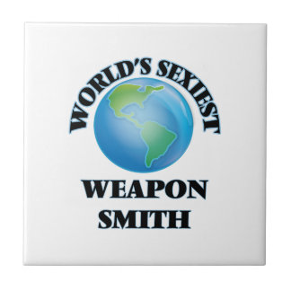 World's Sexiest Weapon Smith Tile