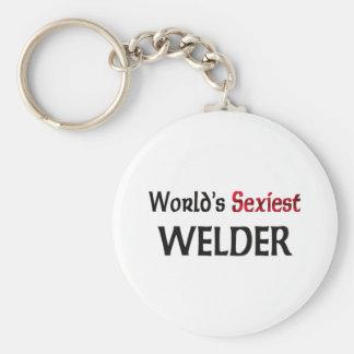 World's Sexiest Welder Keychain
