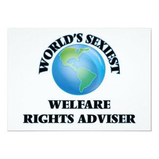World's Sexiest Welfare Rights Adviser Card