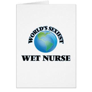 World's Sexiest Wet Nurse Greeting Card
