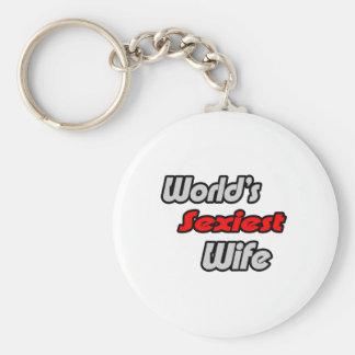 World's Sexiest Wife Keychains