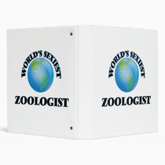 World's Sexiest Zoologist 3 Ring Binders
