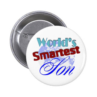 Worlds Smartest Son Buttons