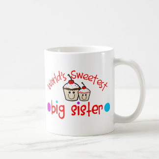 World's Sweetest Big Sister Coffee Mug