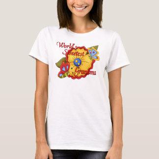 World's Sweetest Grandma Butterfly T-Shirt