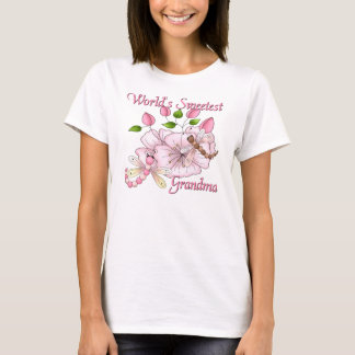 World's Sweetest Grandma Dragonfly T-Shirt