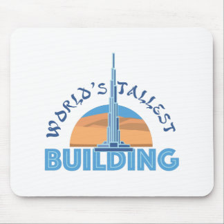 Worlds Tallest Building Mouse Pad