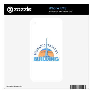 Worlds Tallest Building Skin For The iPhone 4S