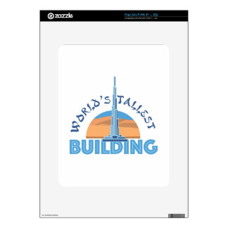 Worlds Tallest Building Skins For The iPad