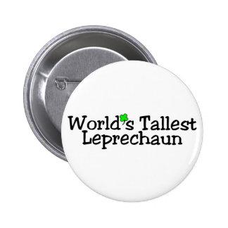 Worlds Tallest Leprechaun 2 Pin