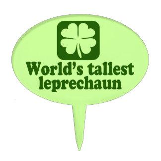 World's Tallest Leprechaun Cake Topper