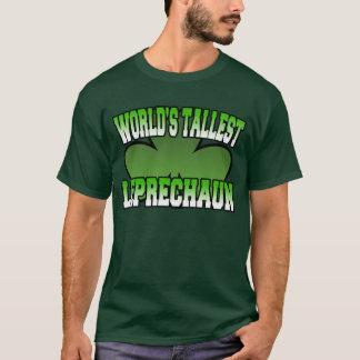 World's Tallest Leprechaun Green T-Shirt