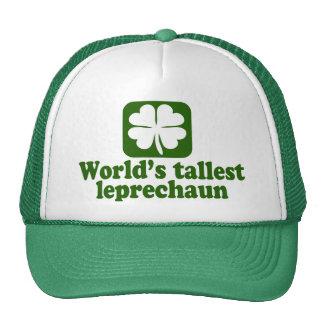 World's Tallest Leprechaun Trucker Hat